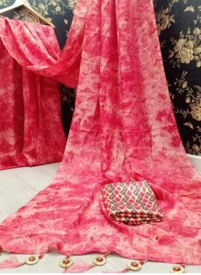 Manokamna Trendz Mehak New Designer Mirror Work Khadi Silk Sarees Collection