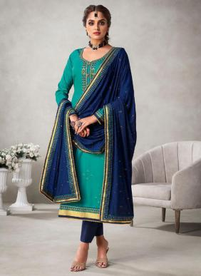 Gulkayra Designer Khanak Eid Special Sequins Work Jam Silk Churidar Suits Collection