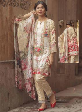 Keval Fab Kaira Luxury Lawn New Fancy Pure Lawn Printed Pakistani Suits Collection