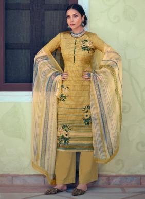 Zulfat Designer Minaaz Digital Printed Jam Cotton Palazzo Suits Collection