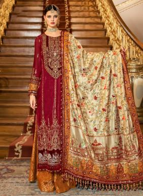 Shree Fab Mbroidered Mariya B Vol 12 New Designer Pakistani Suits Collection For Eid
