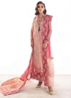 Rawayat Elaan Vol 3 Net And Fuax Georgette Ramzan Eid Special Pakistani Suits Collection