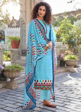 Tanishk Fashion Bandhani Bandhej Printed Pure Cambric Palazzo Suits Collection