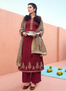 Morbagh Chandrakanta Ramzan Eid Special Premium Silk New Designer Palazzo Suits Collection