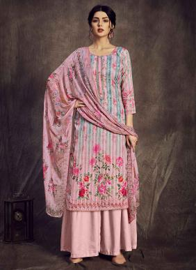 Alok Golden Weave Digital Printed Pure Superior Cotton Daily Wear Palazzo Suits Collection