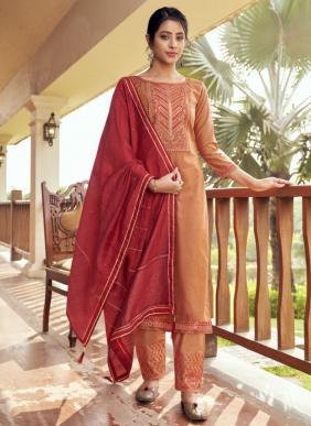 Rangoon Vaani Value Additional Work Cotton Silk Readymade Salwar Suits Collection