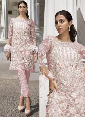 Fepic Rosemeen Hand Work Organza Eid Special Pakistani Suits Collection