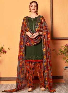 Sweety Fashion Cola Vol 2 Rayon Slub Patiyala Suits Collection