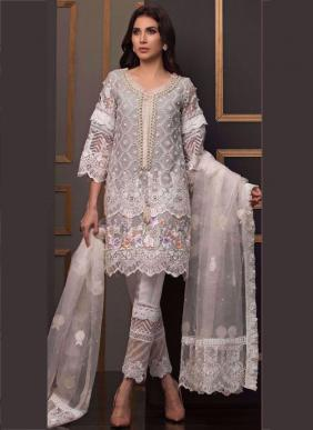 Fepic C1073 Colours Eid Special Heavy Work Net Pakistani Suits Collection
