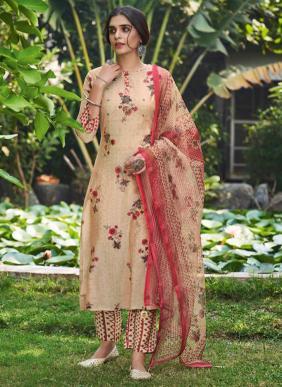 Neha Fashion Nova Hand Work Muslin Silk Readymade Salwar Suits Collection