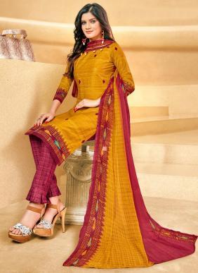 Balaji Arnika Vol 10 New Fancy Pure Cotton Patiyala Suits Collection