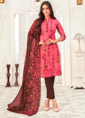 JS Priya Priyalaxmi Cotton Readymade Churidar Suits Collection