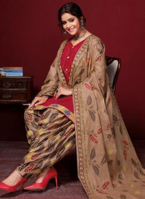 Nagmani Padmashree Vol 11 Printed Cotton Readymade Patiyala Suits Collection
