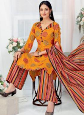 Patidar P Style Vol 41 Pure Cotton Daily Wear Readymade Salwar Suits Collection