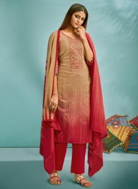 Suryajyoti Shaded Vol 3 Readymade Cotton Satin Palazzo Suits Collection