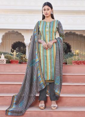 Bipson Kaira 1279 Cotton Satin Printed Salwar Suits Collection