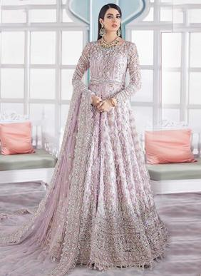 Shree Fab Heavy Embroidery Work Eid Special Net Pakistani Suits Collection