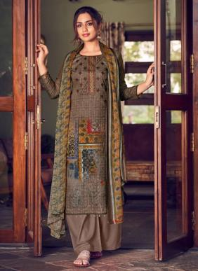 Zulfat Designer Aakruti Pure Cotton Palazzo Suits Collection