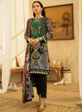 Cyra Fashion Sehrish Patch Work Cotton Pakistani Suits Collection