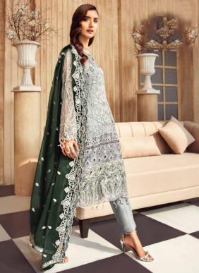 Kalakari Zeenat Faux Georgette Eid Special Pakistani Suits Collection