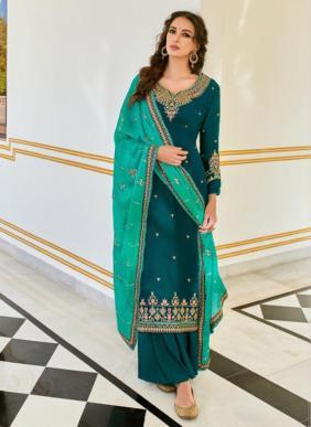 RSF Neera Ramzan Eid Special Parampara Silk Palazzo Suits Collection
