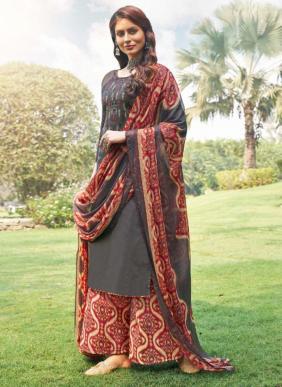 Zulfat Designer Mohini Pure Jam Cotton Palazzo Suits Collection