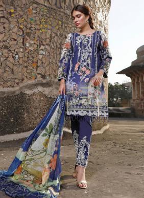 Shree Fab Rang Rasiya Lawn Vol 1Pure Lawn Cotton Pakistani Suits Collection