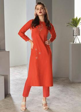 Vamika NX Amour Pure Viscose Kurtis With Pants Collection