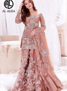 Al Aliza Pkistani Hit Design Salwar Suits Eid Special Collection