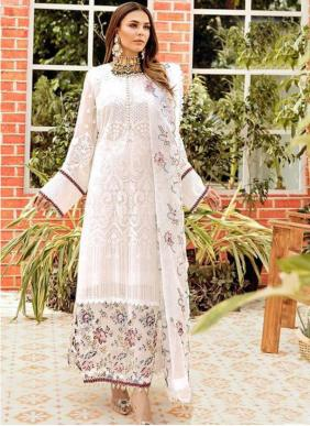 Khayyira La Fluer Georgette New Designer Pakistani Suits Collection
