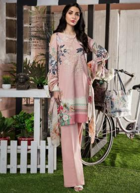 Majesty Firdous Exclusive Designer Casual Wear Cambric Lawn Printed Pakistani Suits Collection