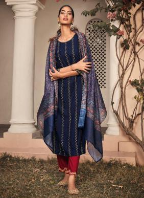 Maisha Aliyah Pure Rayon Embroidery Hand Work Latest Designer Readymade Salwar Suits Collection