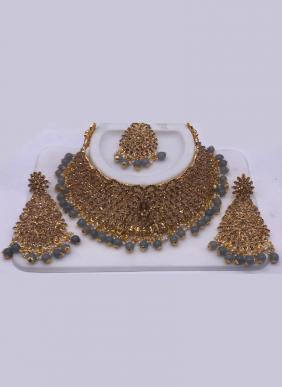 Wedding Wear Chokar Style Diamond Necklace Set Collection