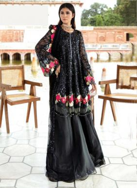 Khayyira Heavy Embroidery Work Festival Wear Georgette Pakistani Suits Collection