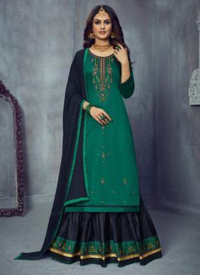 Kalarang Blossom Vol 14 Jam Cotton Silk Casual Wear New Fancy Lehenga Suits Collection