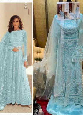 Bonaza Museq Butterfly Net Exclusive Designer Wedding Wear Heavy Embroidery Work Pakistani Suits Collection