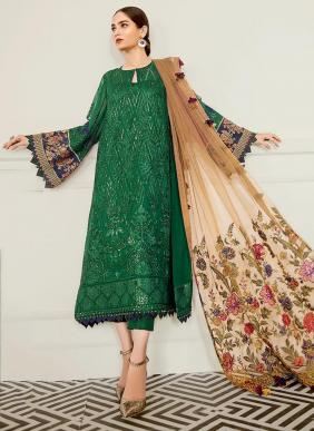 Shree Fab S160 Faux Georgette New Designer Eid Special Pakistani Salwar Suits Collection