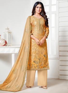 Panghat NX Senorita Stylish Pure Cotton Digital Printed Daily Wear Palazzo Suits Collection