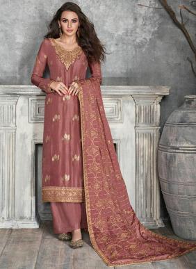 Aashirwad Gulkand Ajrakh Eid Special Latest Designer Pure Dola Silk Party Wear Straight Suits Collection
