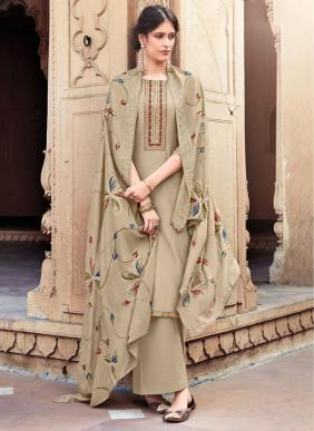 Bela Fashion Masakali Embroidery Work New Designer Cotton Silk Palazzo Suits Eid Collection
