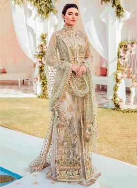 Ramsha R Butterfly Net Heavy Embroidery Work Party Wear Latest Designer Pakistani Suits Collection
