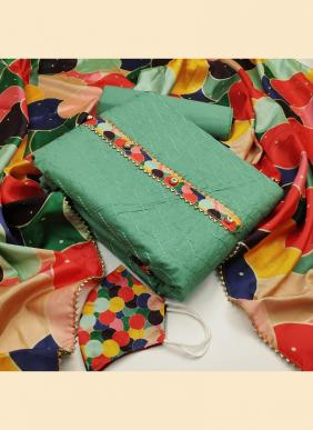 41048 Heavy Printed New Designer Regular Wear Cotton Salwar Suits Dress Material Collection