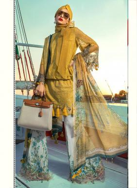 Fepic Maria B Lawn Vol 1 Patch Embroidery Work New Designer Eid Special Pure Cotton Pakistani Suits Collection