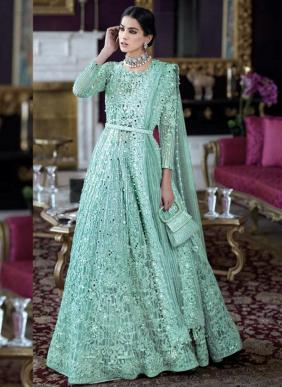 Rinaz Fashion DNO 1128 Colours Heavy Diamond Work Butterfly Net Ramzan Eid Special Pakistani Suits Collection