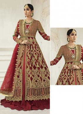 Saniya Trendz Mariya B Bridal Codding Work Butterfly Net Wedding Wear Pakistani Suits New Colors Collection