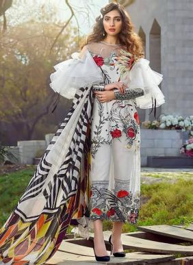Shree Fab Asifa Nabeel Exclusive Designer Embroidery Work Pure Jam Cotton Party Wear Pakistani Suits Collection