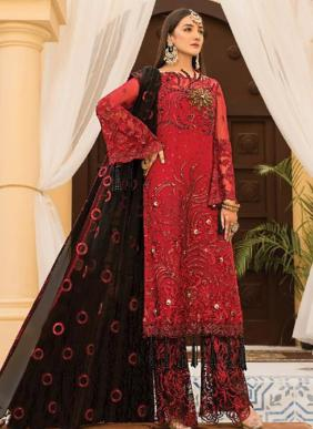 Rinaz Fashion Maryam's Gold Vol 7 Ramzan Eid Special Heavy Faux Georgette Embroidery Work Pakistani Suits Collection