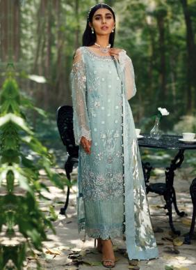 Serene Azalea Faux Georgette Eid Special Pakistani Suits Collection