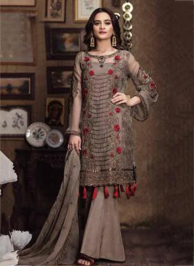 Kitaab Vol 4 Eid Special Faux Georgette Pakistani Suits Collection