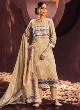 Riva Junoon Glace Cotton New Fancy Salwar Suits Collection